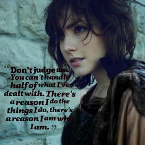 Quotes Picture: don't judge me you can't handle half of what i've ...