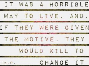 By: Saphira Loconjinn. (Quote by M.P. hehe...)