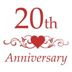 20th_wedding_anniversary_greeting_card.jpg?height=250&width=250 ...