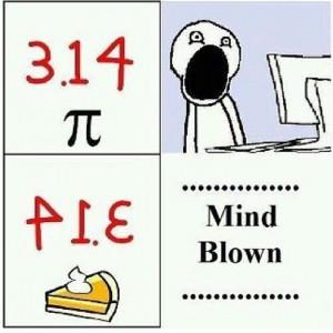 pie pi math joke