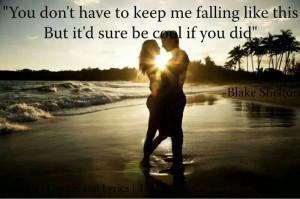 Blake Shelton, Country music lyrics