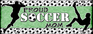 Proud Soccer Mom Facebook Cover