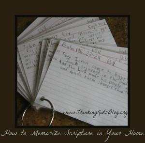 Note Card Verses
