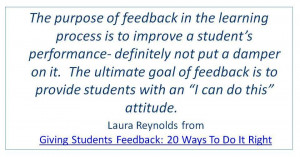 Feedback: What do we know? What do we do?