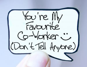 Funny Coworker Quotes Funny co worker magnet for