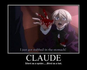 Black Butler Claude Faustus Quotes