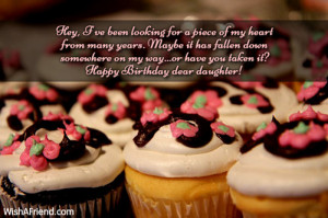 ... on my way...or have you taken it? Happy Birthday dear daughter
