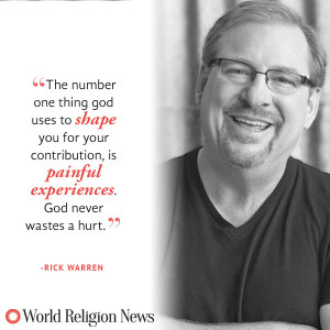 Rick Warren Quote