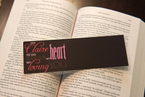 Book Accessories: Book Quote Bookmarks!