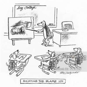 shifting the blame cartoons, shifting the blame cartoon, funny ...
