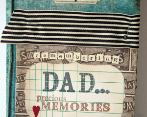 Remembering Dad Altered Book