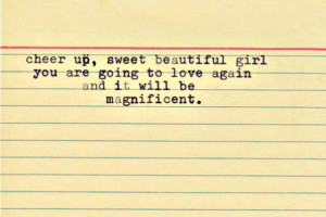 My letter to a dear friend going through a breakup…(an old post from ...