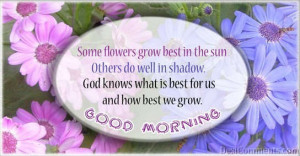 God Knows What Is Best For Us