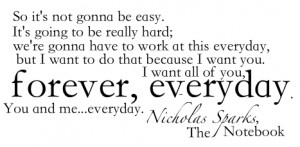 sparks # nicholas sparks quotes # book quotes # books # the notebook ...