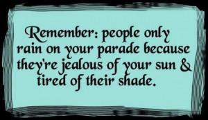 Shady people suck...
