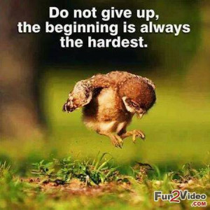Never give up quotes inspirational picture which encourage you to face ...