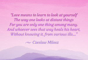czeslaw milosz quote