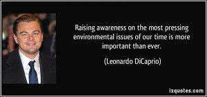 Environmental Issues quote #1