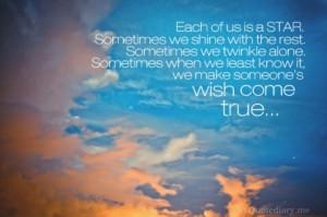 Make someone's wish come true