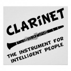 intelligent clarinet by funnymusic browse clarinet posters