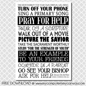 SisterReeves LDS General Conference Quotes, Sister Reeves April 2014 ...