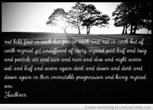 Oneness Faulkner Quote