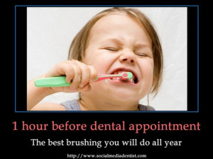 funny pictures, brushing your teeth