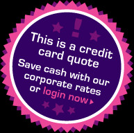 Save cash with corporate rates. Log in now