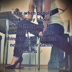Hate Attitude Girl Quotes – I Hate Attitude Status Facebook