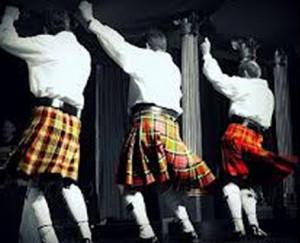 Details About Funny Men Scottish Tartan Kilt Outfit Halloween Costume