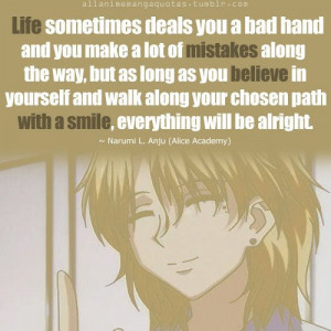 Most popular tags for this image include: anime, quotes, quote, anime ...