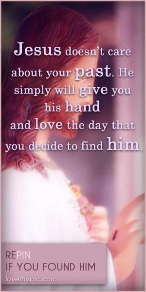 quotes religious quote god Jesus religious quotes find him his love ...