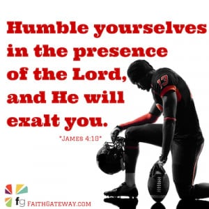 ... Testament remind us of the importance humility can play in our lives