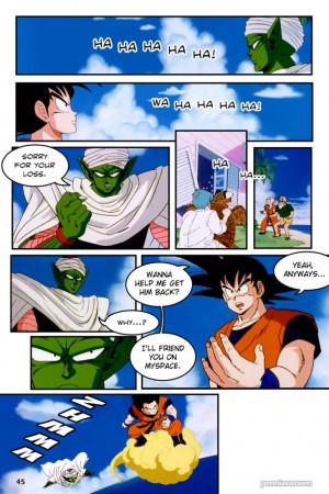 DragonBall Z Abridged: The Manga - Page 045 by penniavaswen
