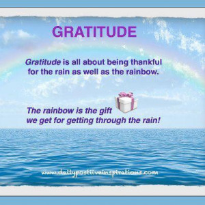 ... share a few of my favorite gratitude quotes and thoughts