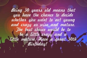 30th Birthday Quotes for Son