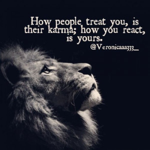 life #LifeQuotes #QUOTES #karma #smile #lion #majestic