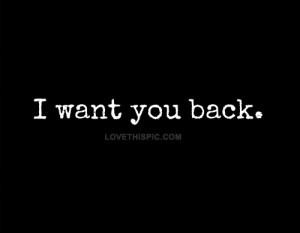 love it i want you back