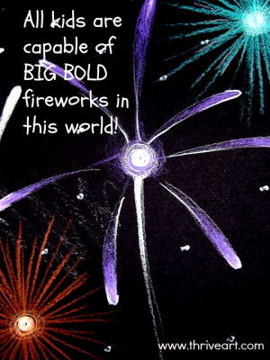 Fireworks quote image