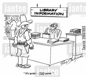 Cartoon Information Desk