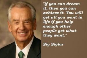 Great Zig Ziglar Motivational Business Quotes