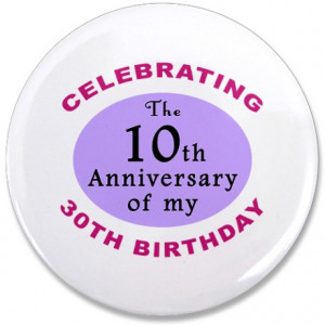 40Th Gifts > 40Th Buttons > Funny 40th Birthday Gag 3.5