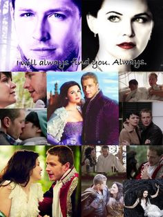 Collage of Prince Charming and Snow White More