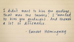 Earnest Hemmingway