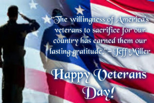 Veterans Day 2014 messages for Facebook