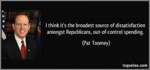More Pat Toomey Quotes