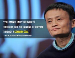 ... Jack Ma, the founder of Alibaba Group: Jack Ma, Alibaba Group, Common