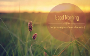 good morning wishes with quote