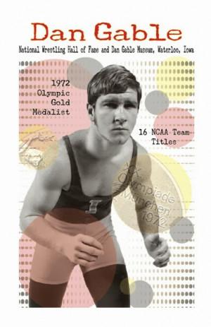 Dan Gable Poster Mackenzie...