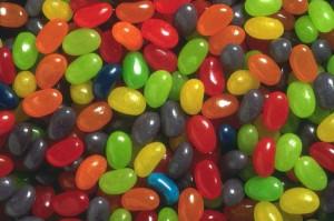 Blue Cute Face Jelly Beans...